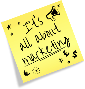 Marketing sticker