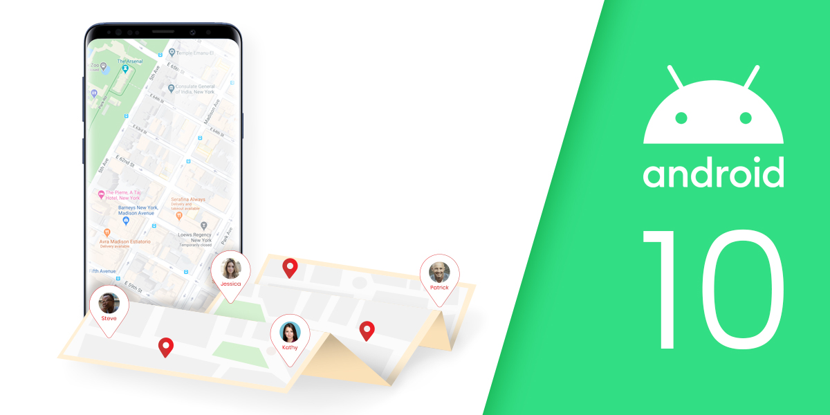 Android 10 Real Time Location Updates